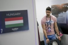 Freddie - Hungary 2016 - Backstage
