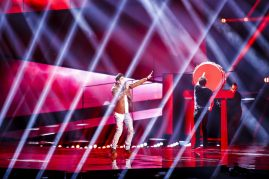 Freddie - Hungary 2016 - First Rehearsal