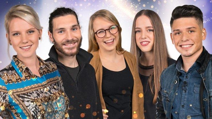 Finalistas de Unser Song 2017